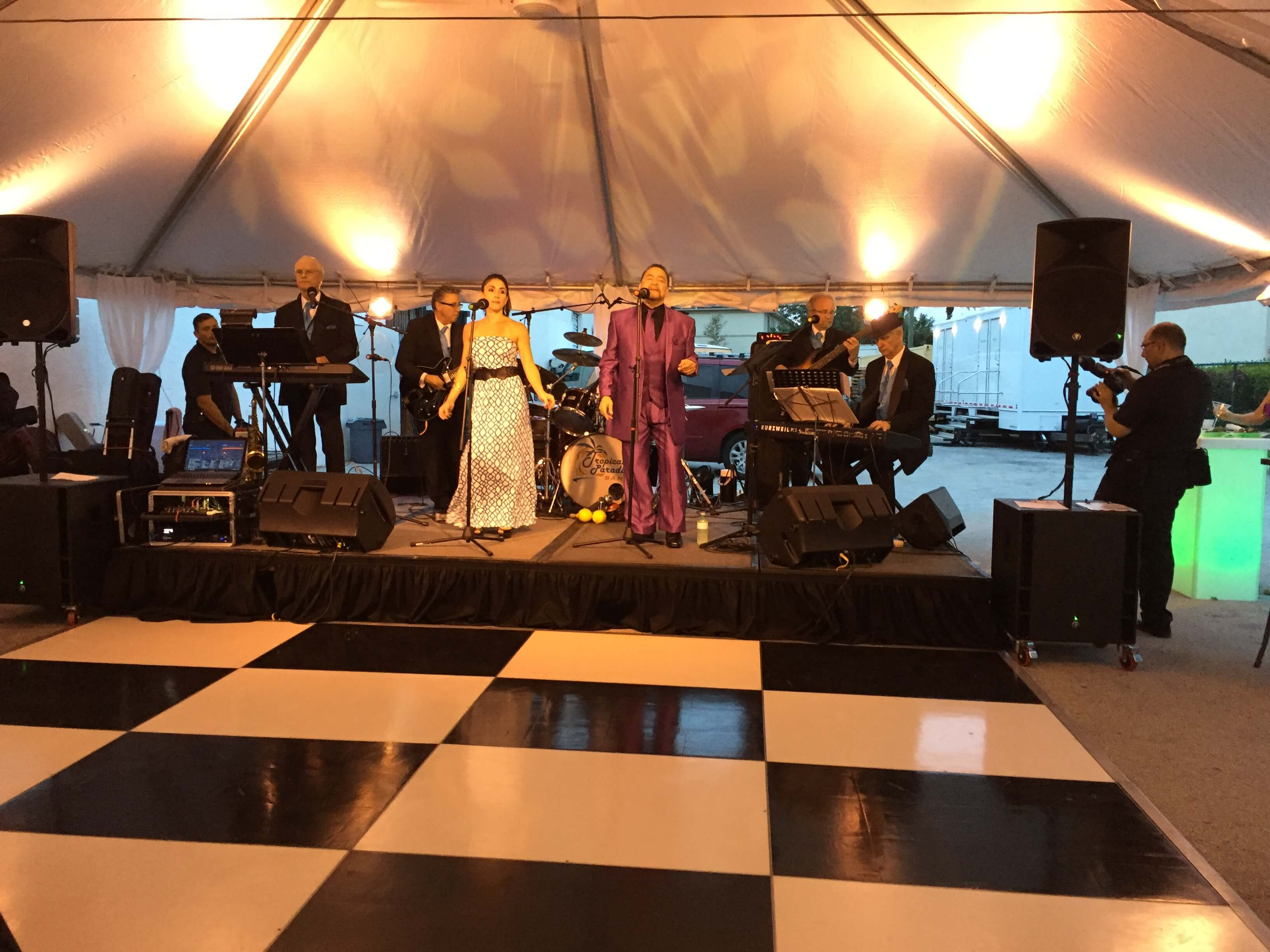 Staging | Dance Floor Rentals | Outdoor Flooring | Grimes