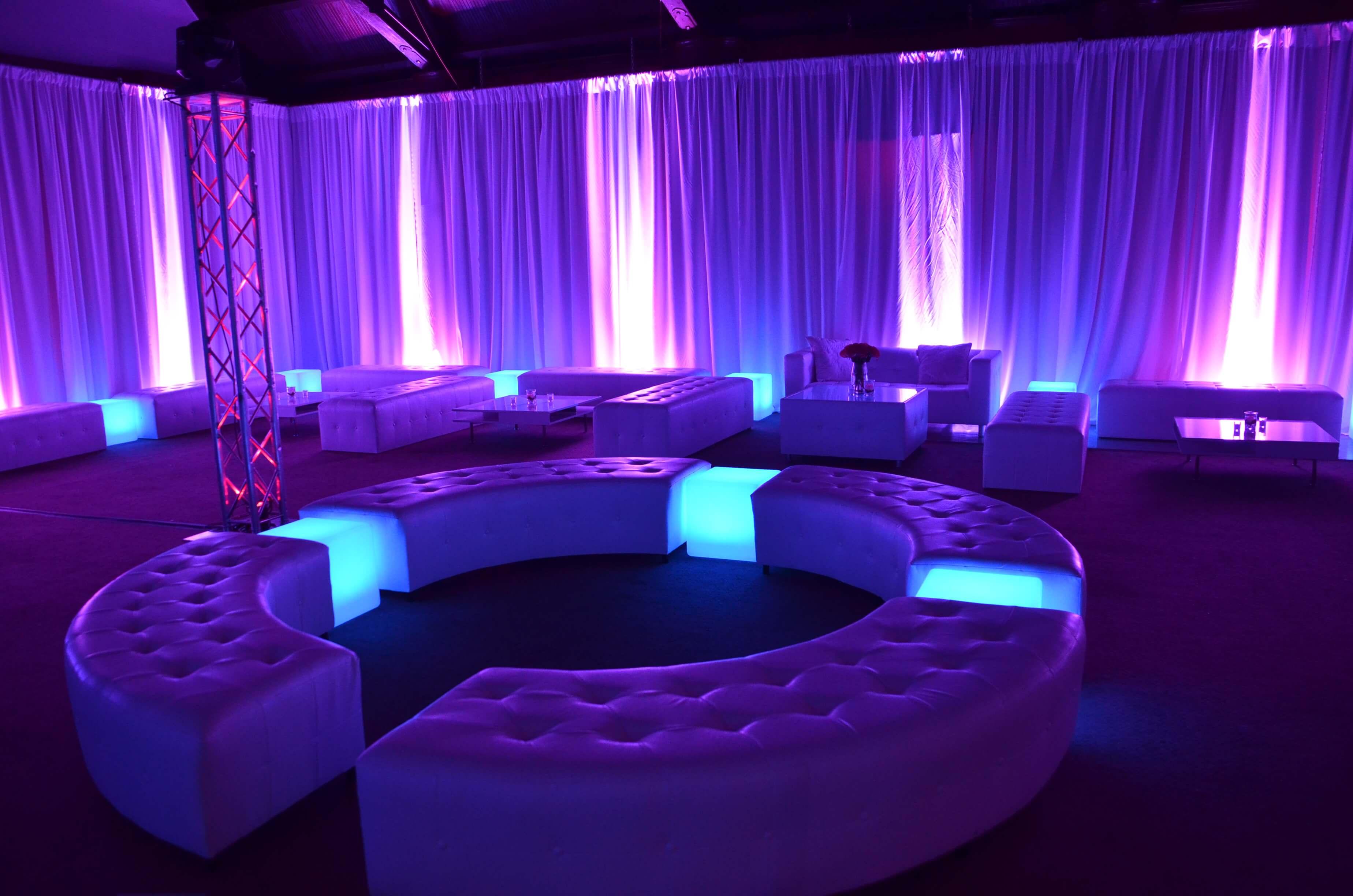 LED Furniture | LED Furniture Rentals | Grimes