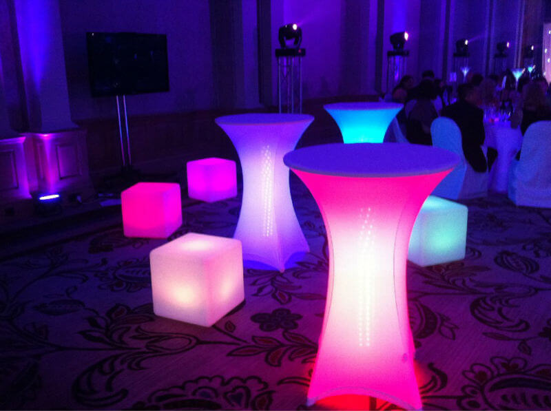 LED Furniture Rentals For So Flo Parties ...