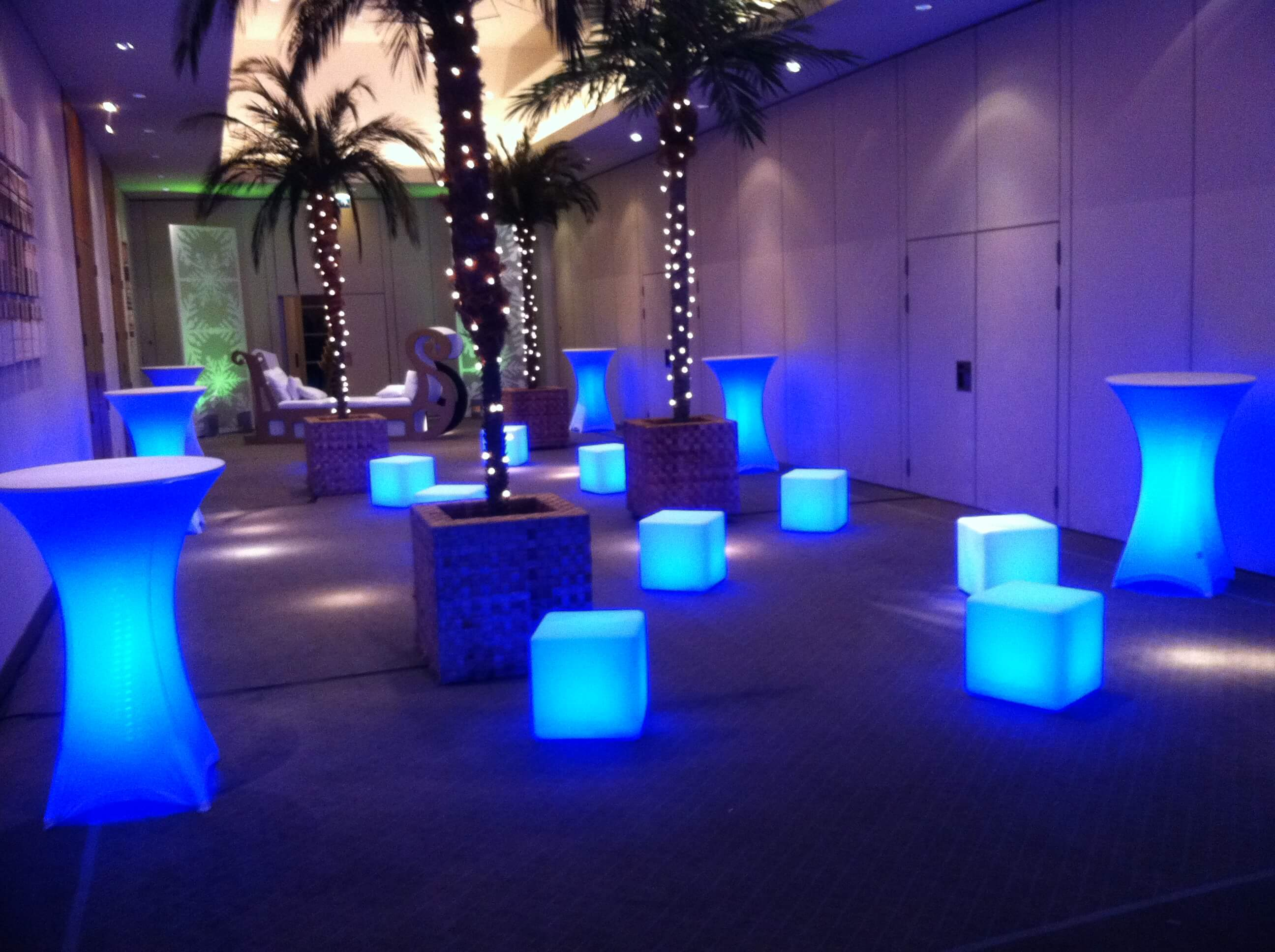 Led Furniture Grimes Events Amp Party Tents