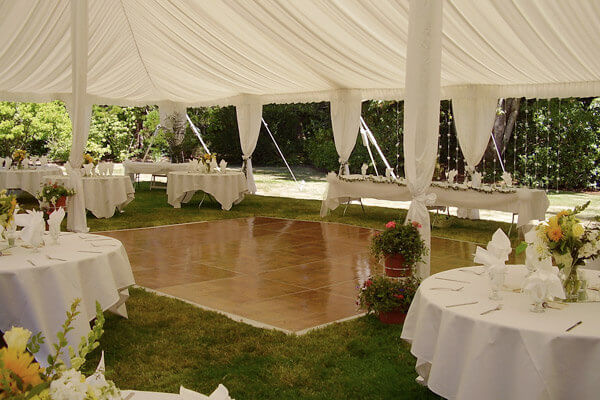 Party Stages and Staging & Staging u0026 Outdoor Party Flooring | Grimes Events u0026 Party Tents