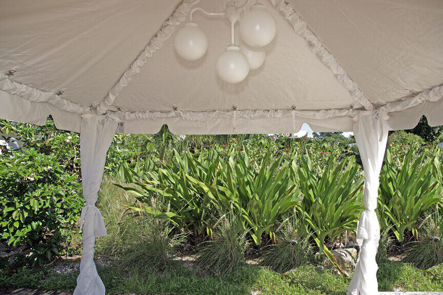 A few options include globe chandeliers tent liners leg drapes Italian market lights side curtains sleeved legs Chinese paper lanterns fencing ... & Party Tent Rentals and Event Tents | Grimes Events u0026 Party Tents