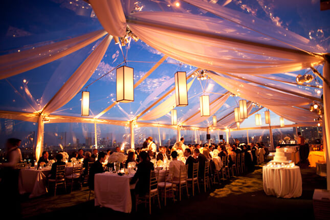 We offer wedding rentals when you need to rent a wedding tent or accessories.