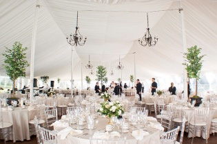 event tent layout