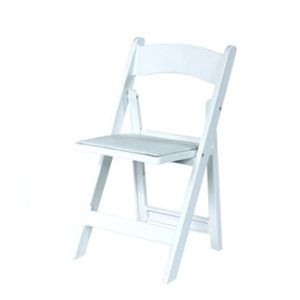 White Padded. $3.50. White Samsonite folding chair ...  sc 1 st  Grimes Events u0026 Party Tents & White Padded Resin Chair - Grimes Events u0026 Party Tents