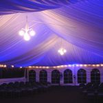 Liner with Glbe Chandelier