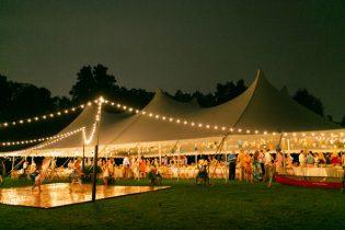 outdoor tent rental