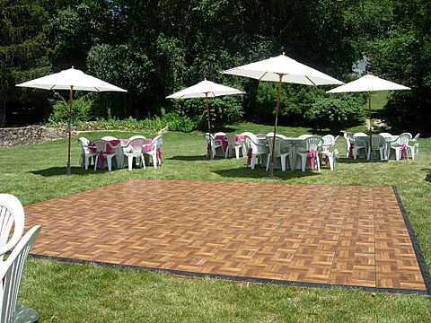 Dance floor wood grimes events party tents - Temporary flooring for renters ...